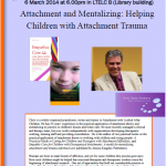 Psychology Seminar 150x150 Attachment and Mentalizing: Helping Children with Attachment Trauma